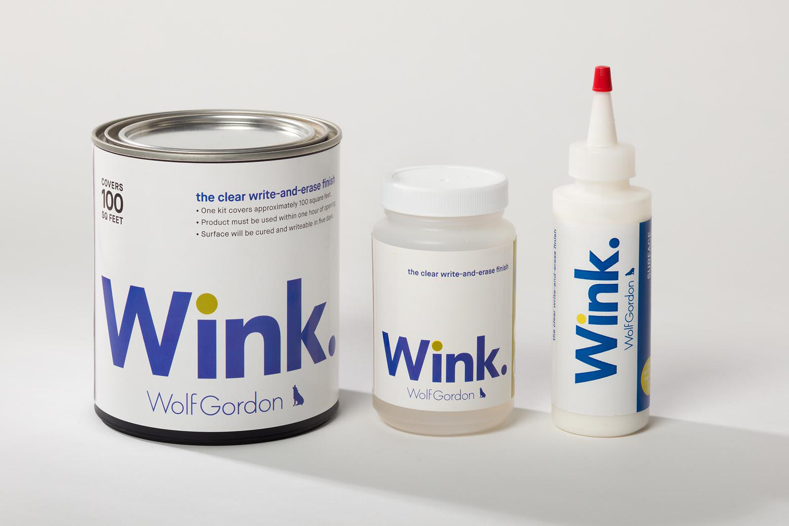 Turn A Wall Into A Whiteboard Wink Wall Coatings From Wolf Gordon Architonic