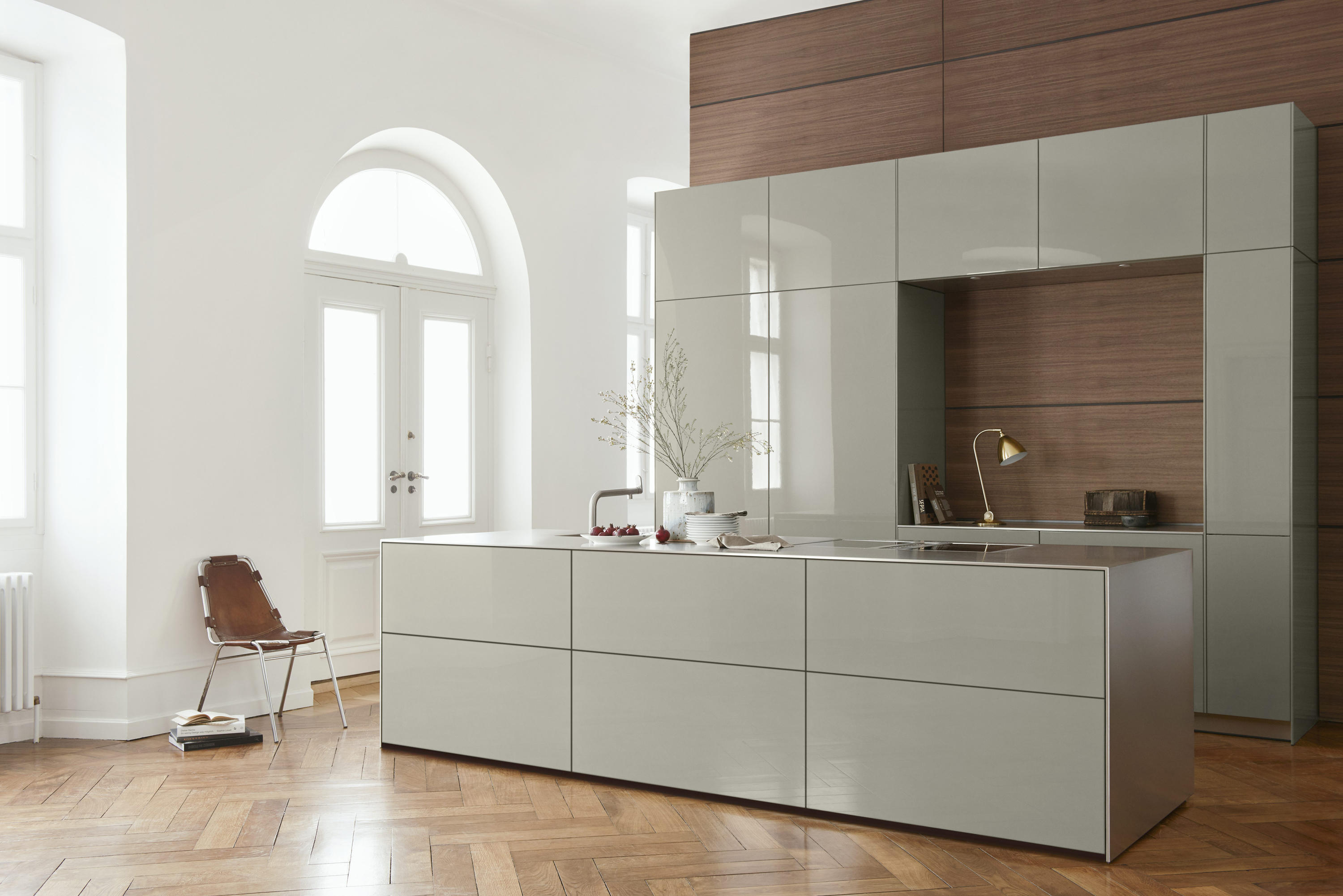 Bulthaup Bodenkirchen B3 Monoblock In Stainless Steel Fitted Kitchens From