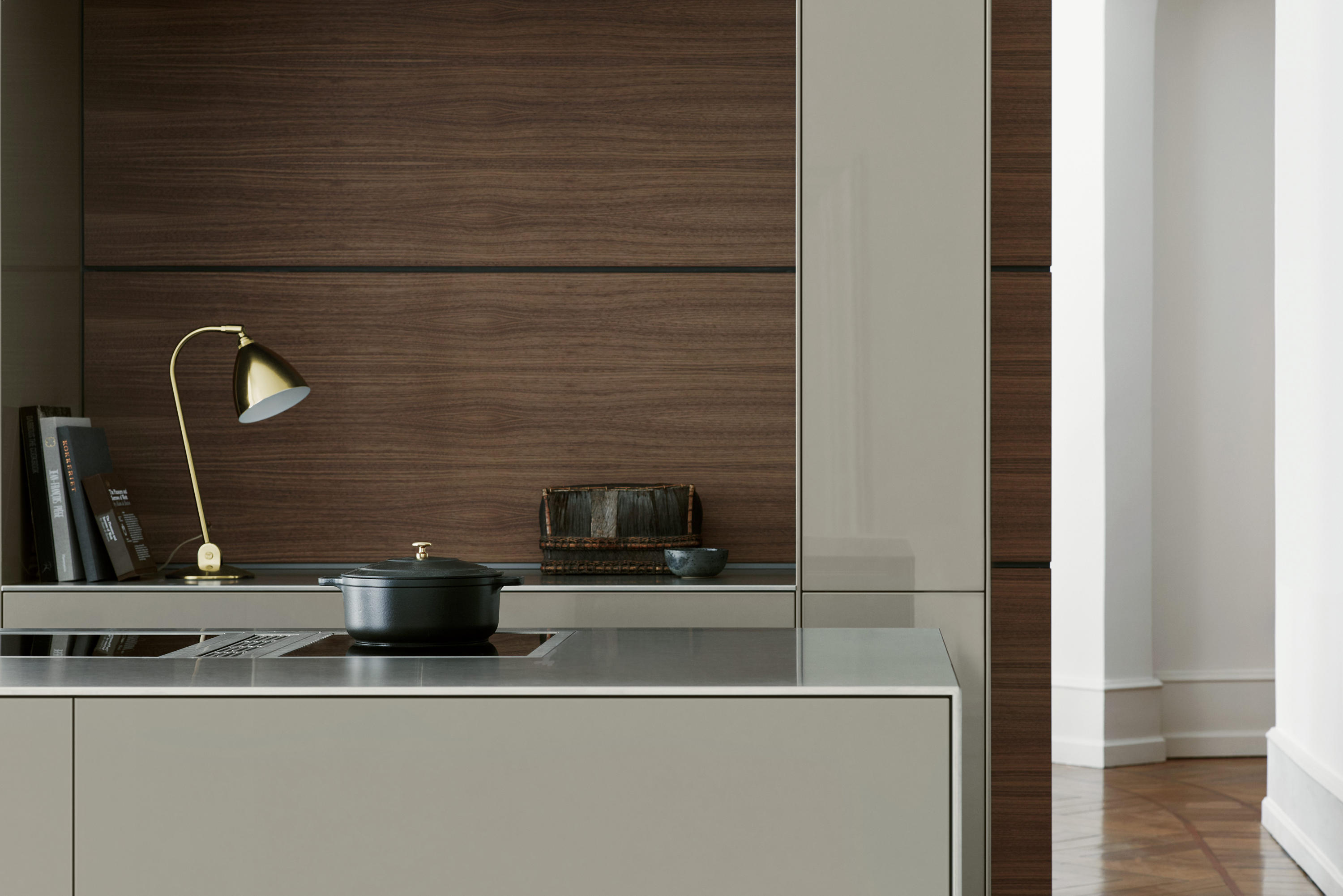 Bulthaup Bodenkirchen B3 Stainless Steel And Aluminum Fitted Kitchens From