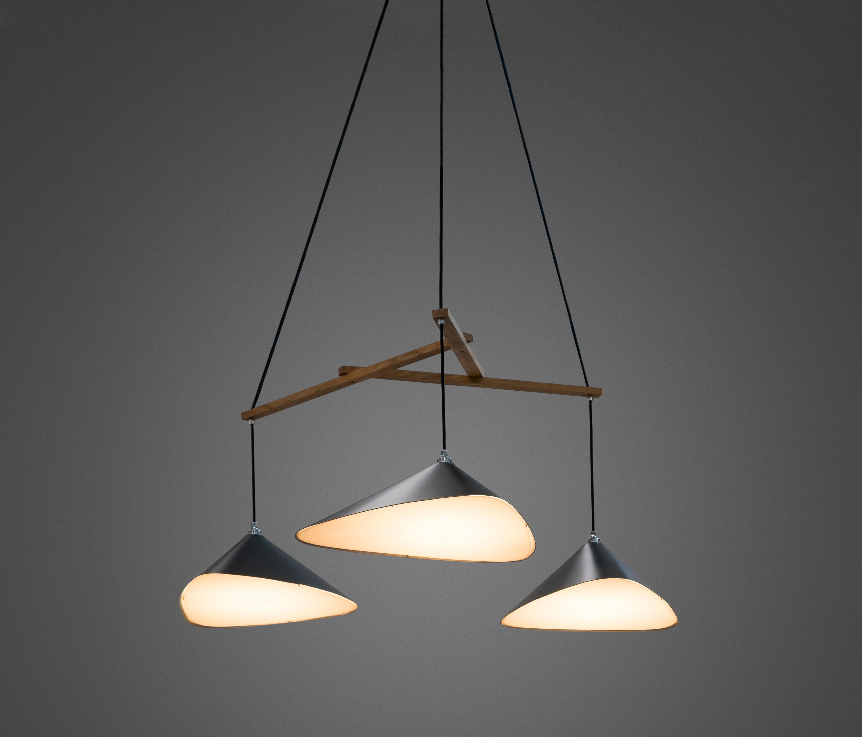 Lamp Design Emily Group Of Three Semi Matte General Lighting From