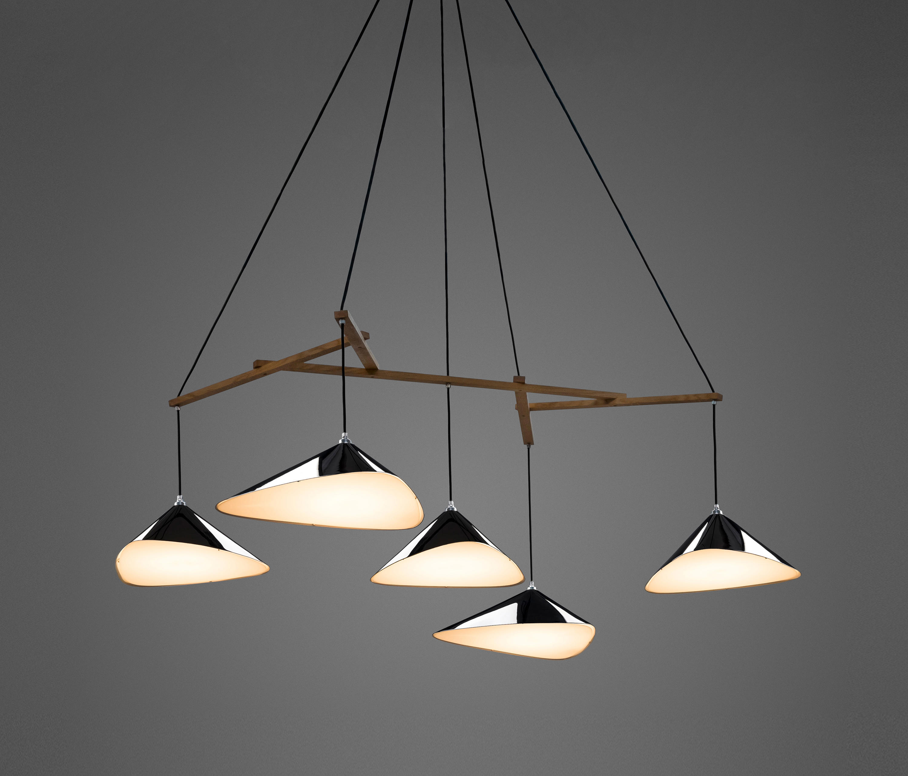 Suspension Design Neon Emily Group Of Five High Gloss General Lighting From