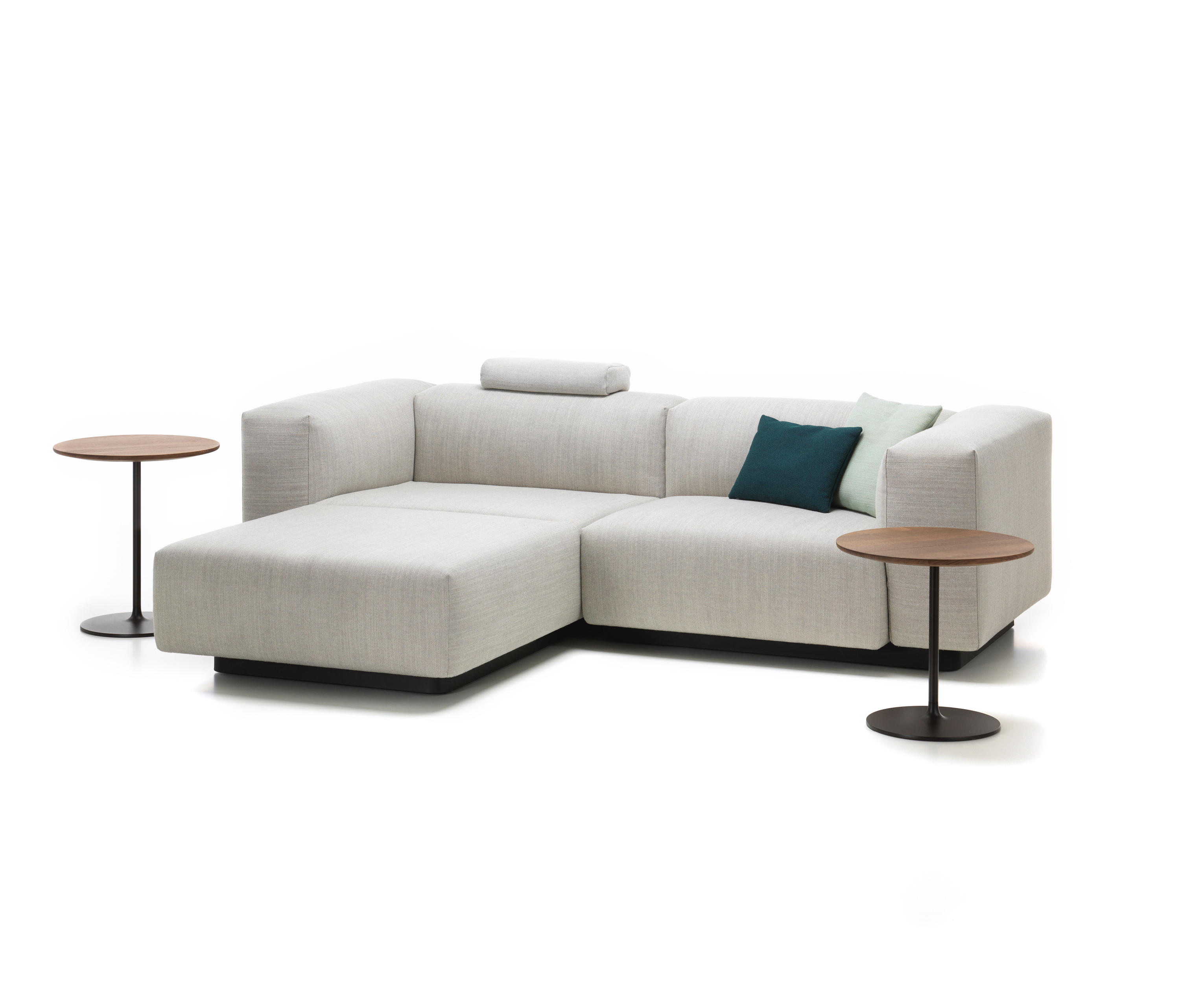 Chaise Vitra Soft Modular Sofa 2 Seater Chaise Longue Sofas From Vitra