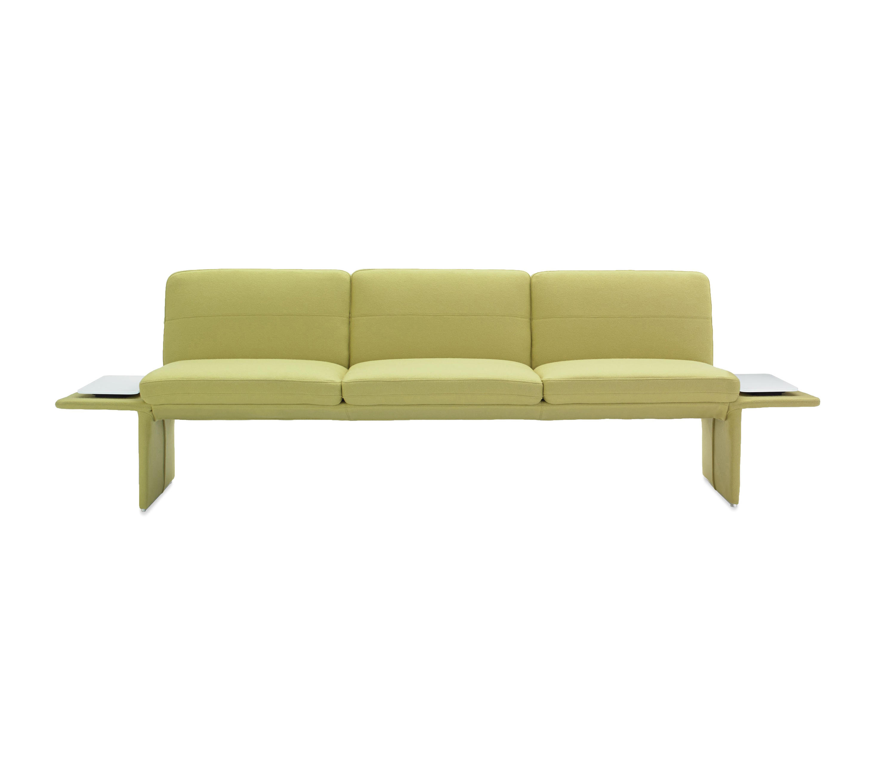 Settee No Arms Pai Three Seater Sofa With Tablet Sofas From Studio Tk Architonic