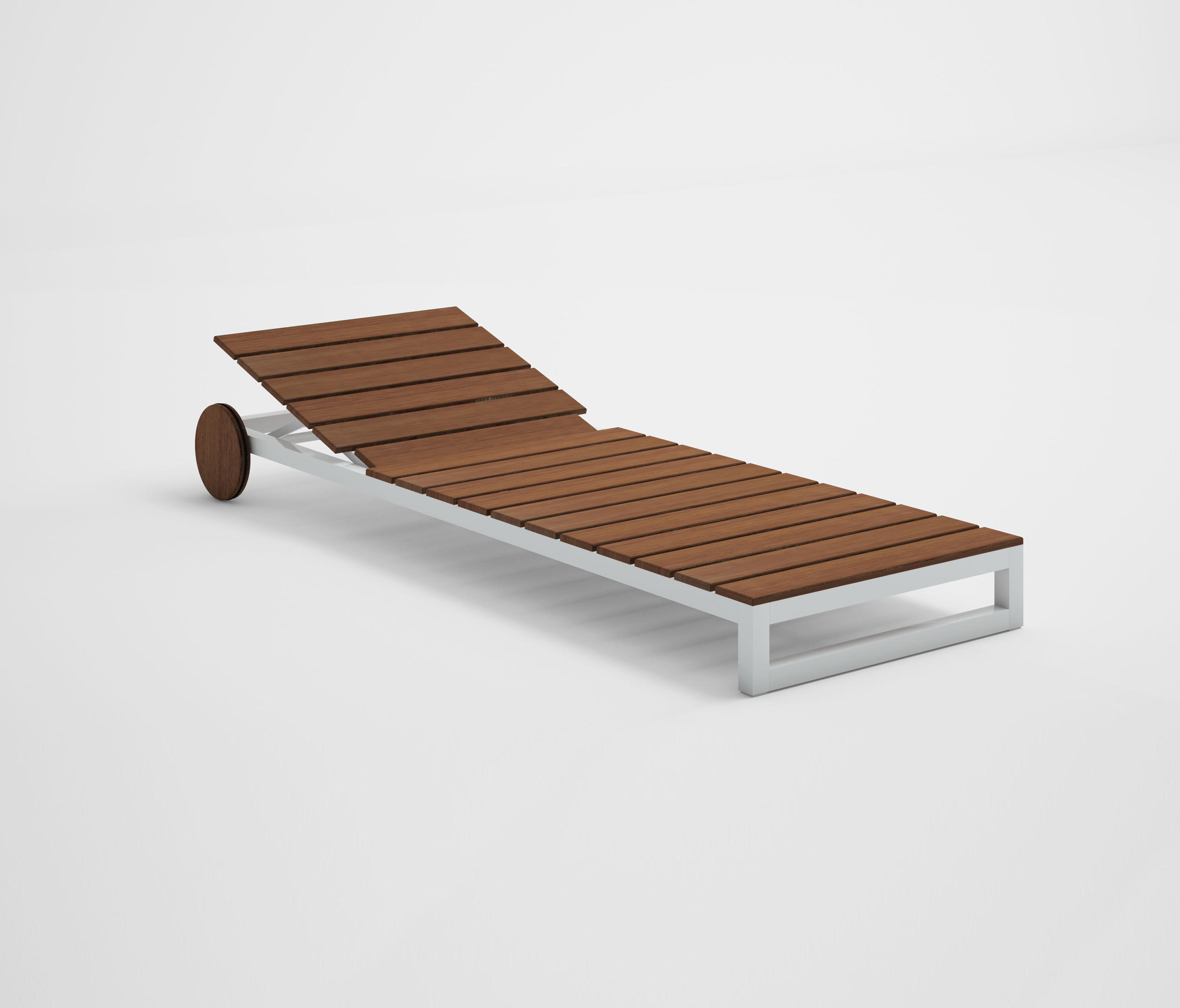 Teak Liege Saler Soft Teak Chaiselongue Sun Loungers From Gandiablasco