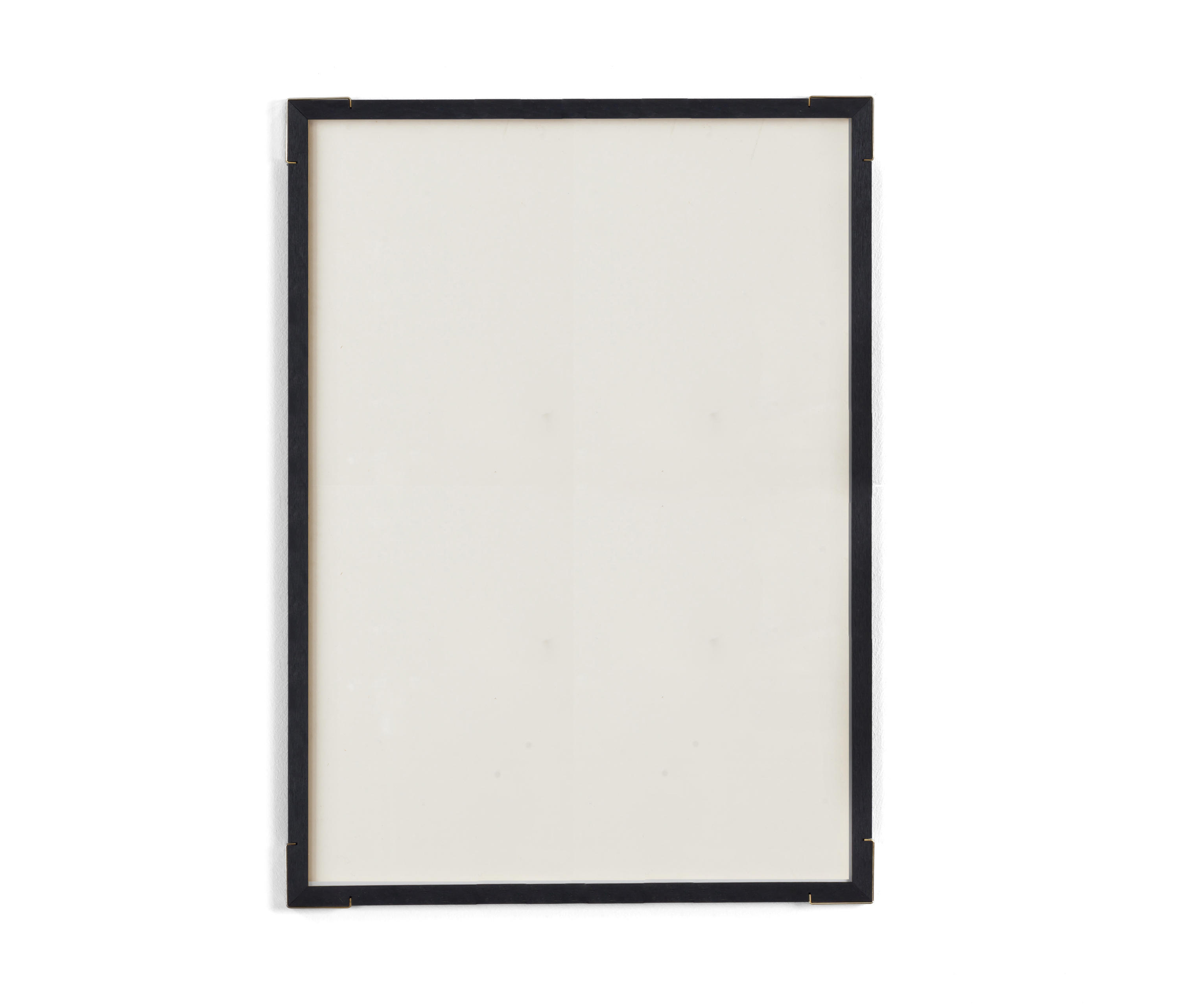 Plexiglas Bouwmarkt Epaulette Black Edition A3 Brass Corners Picture Frames From