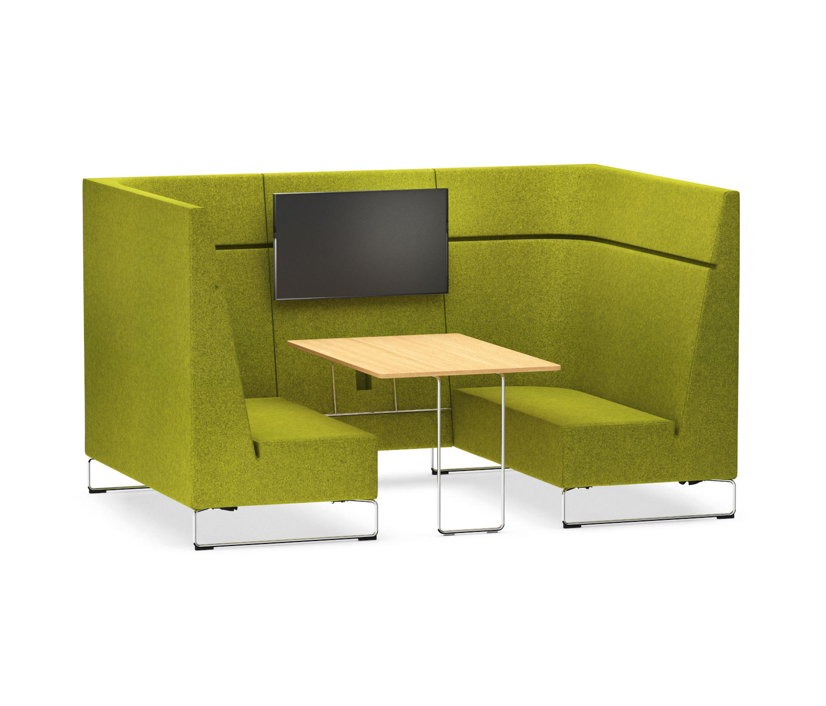 Yellow Möbel Sessel Lounge Hiback Sofas From Vs Architonic
