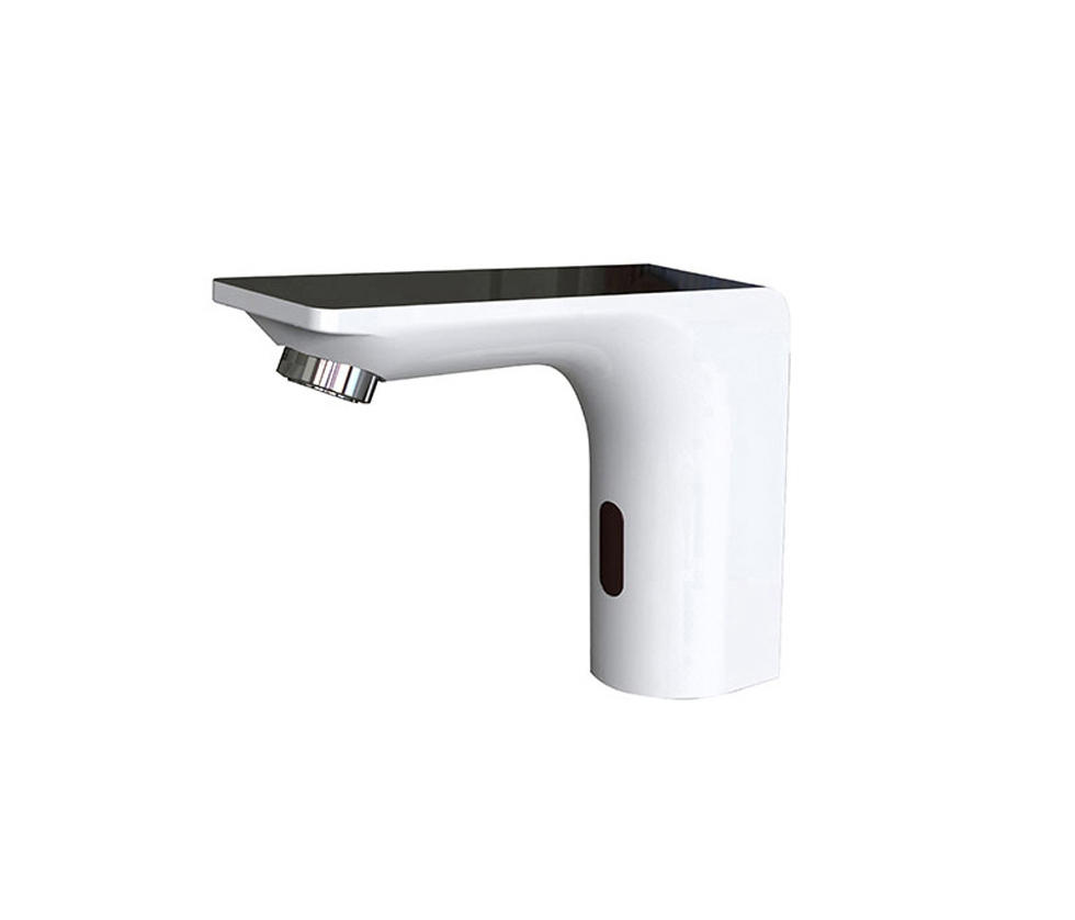 Bagnodesign Basin Taps Savoia Deck Mounted Infrared Tap Battery Or Mains Operated