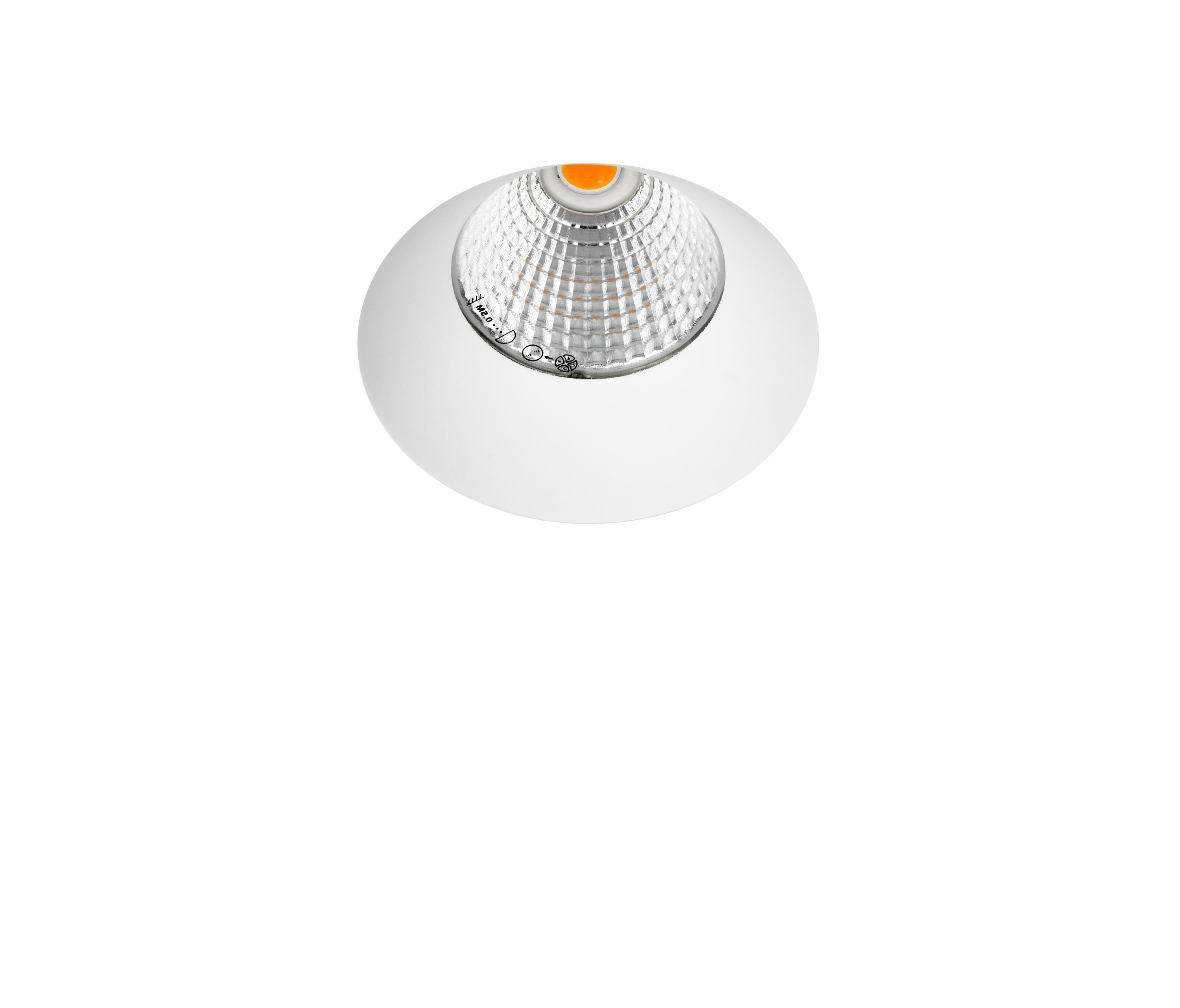 Cob Led Verlichting Borderless 1x Cob Led Recessed Ceiling Lights From Orbit