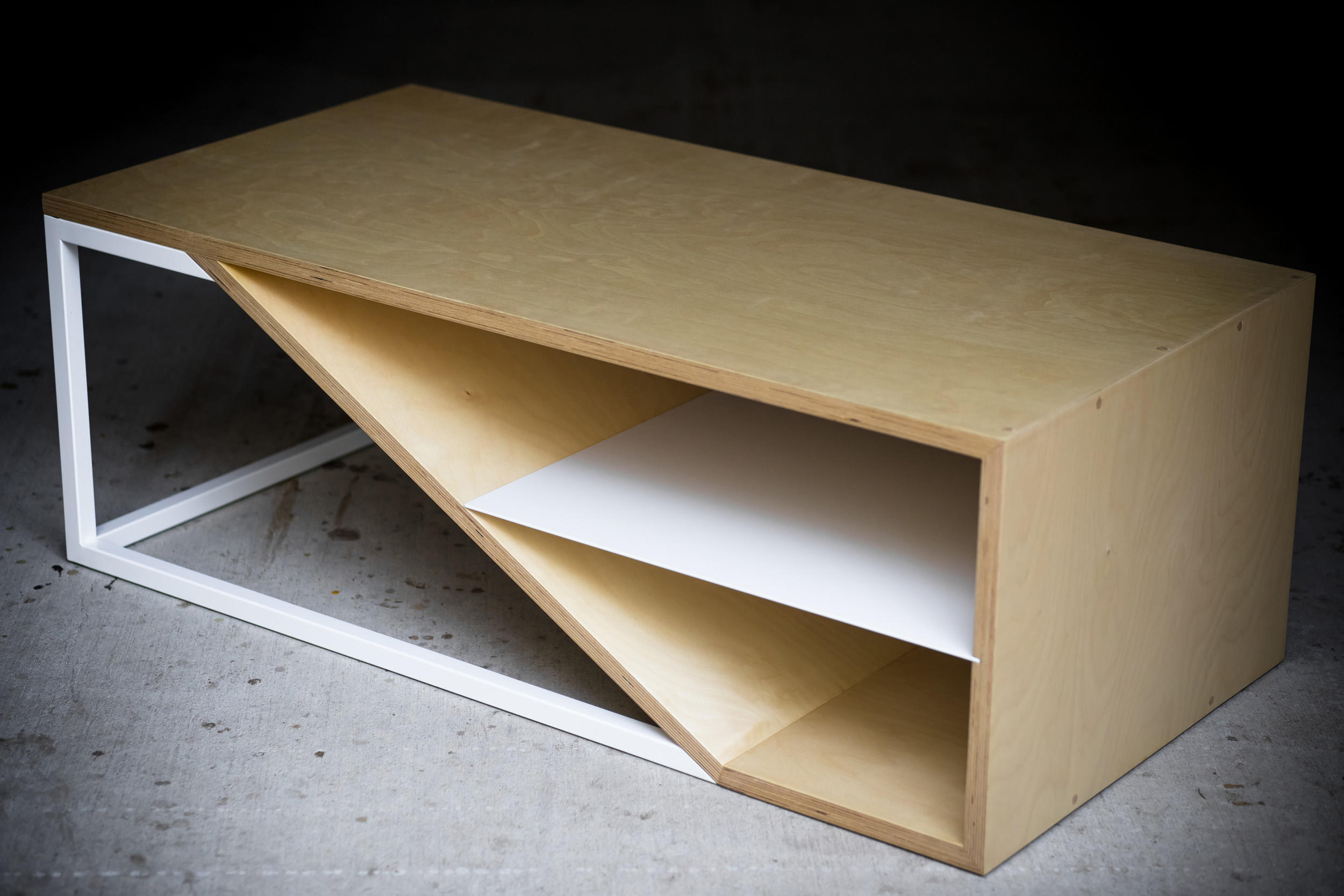 Plywood Furniture Cortado Birch Ply Coffee Tables From Harkavy Furniture Architonic
