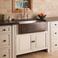 COPPER/STAINLESS FARMHOUSE SINK - Kitchen sinks from Stone ...