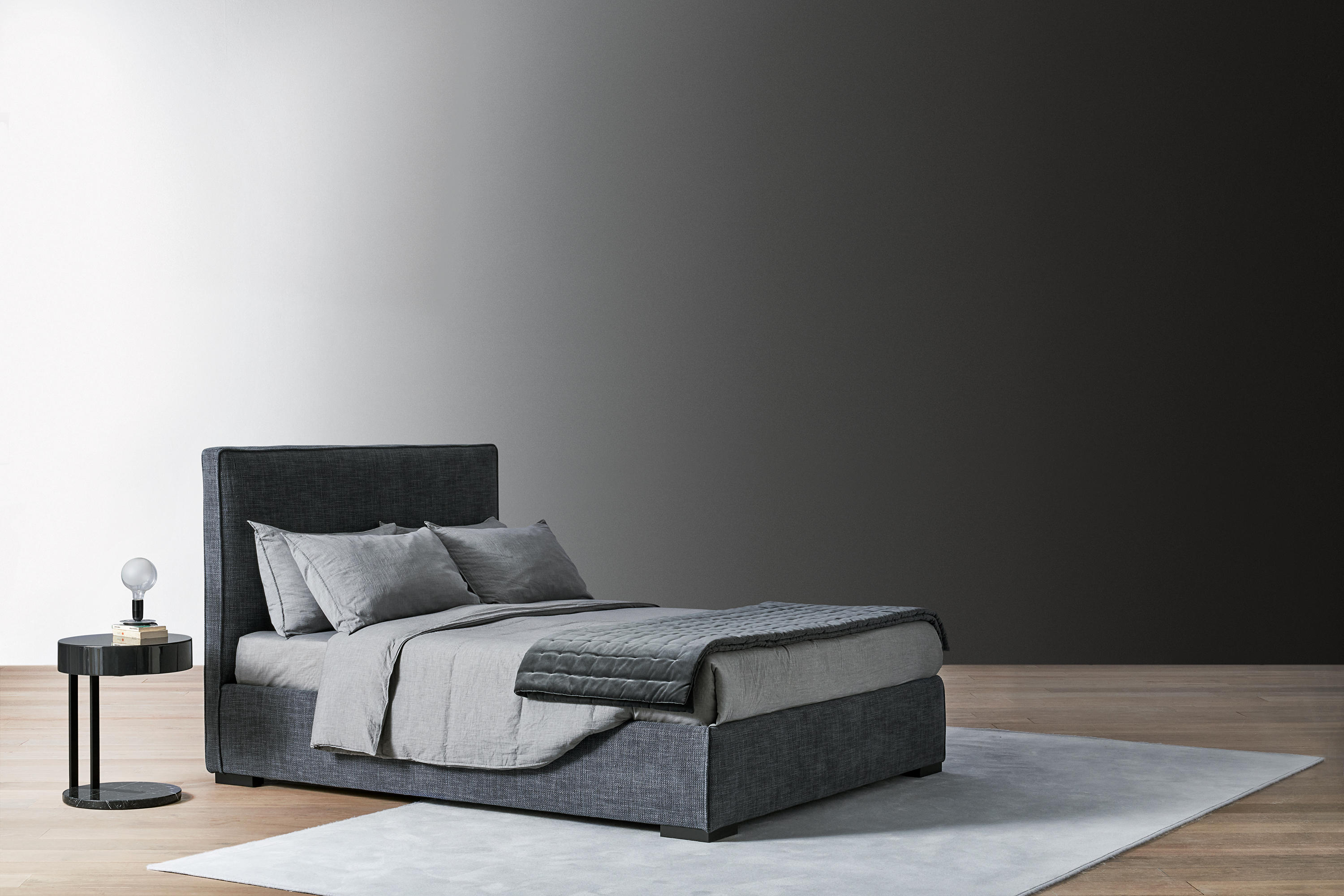 Wandpaneel Bett Stone Bett Betten Von Meridiani Architonic