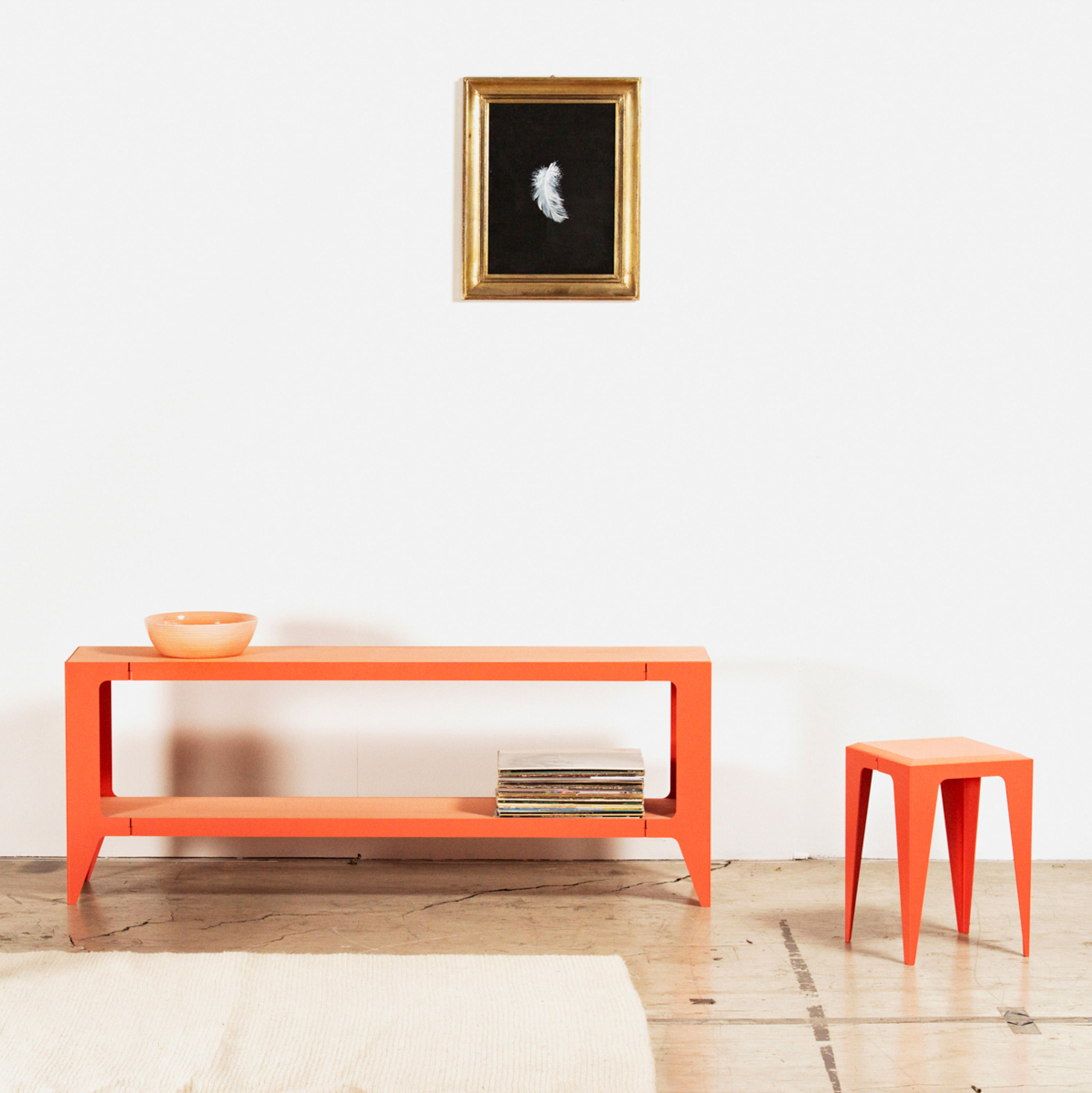 Chamfer Bench Calypso Red Architonic