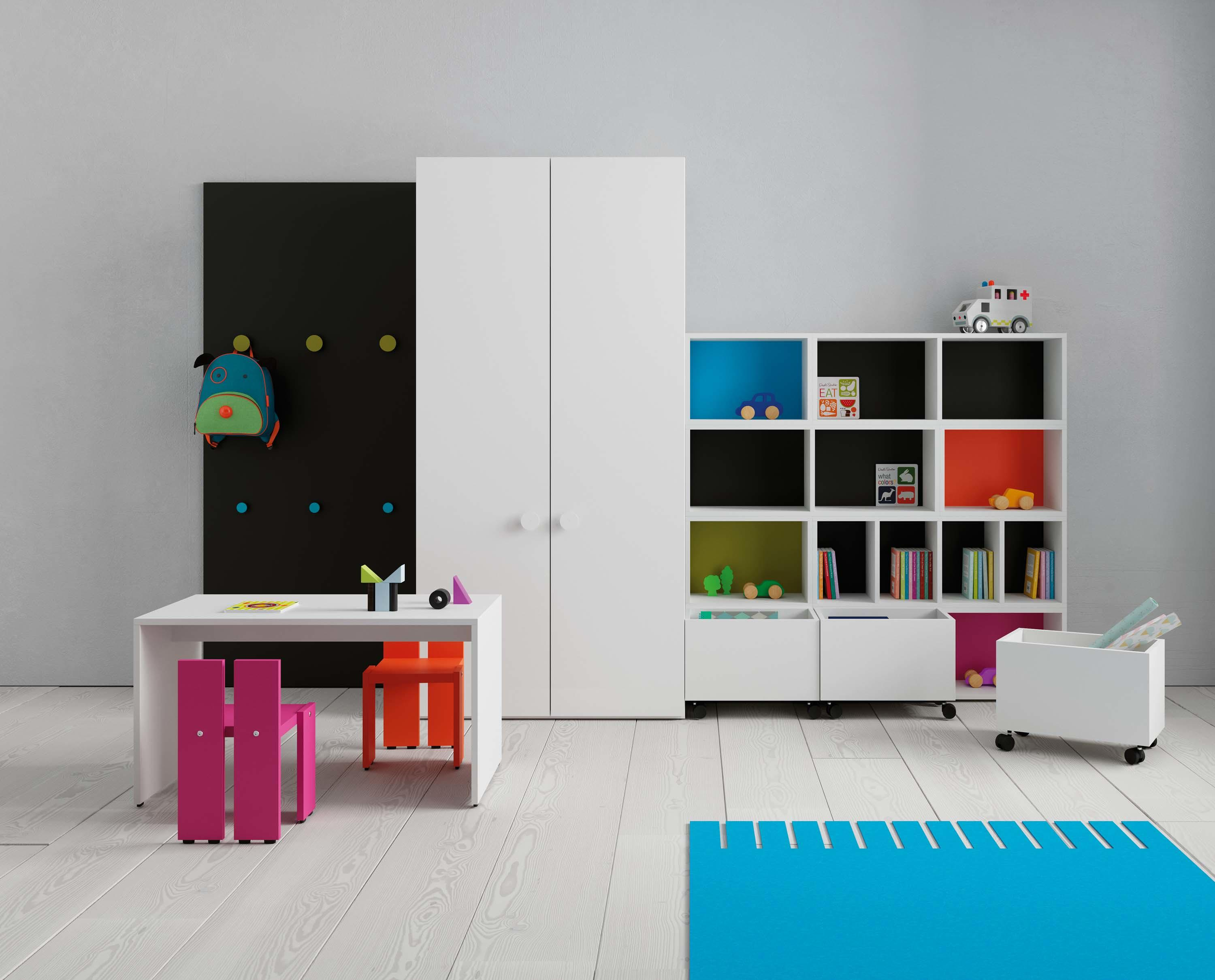 Only Muebles Children S Room For Games 07 Kids Storage Furniture From Jjp