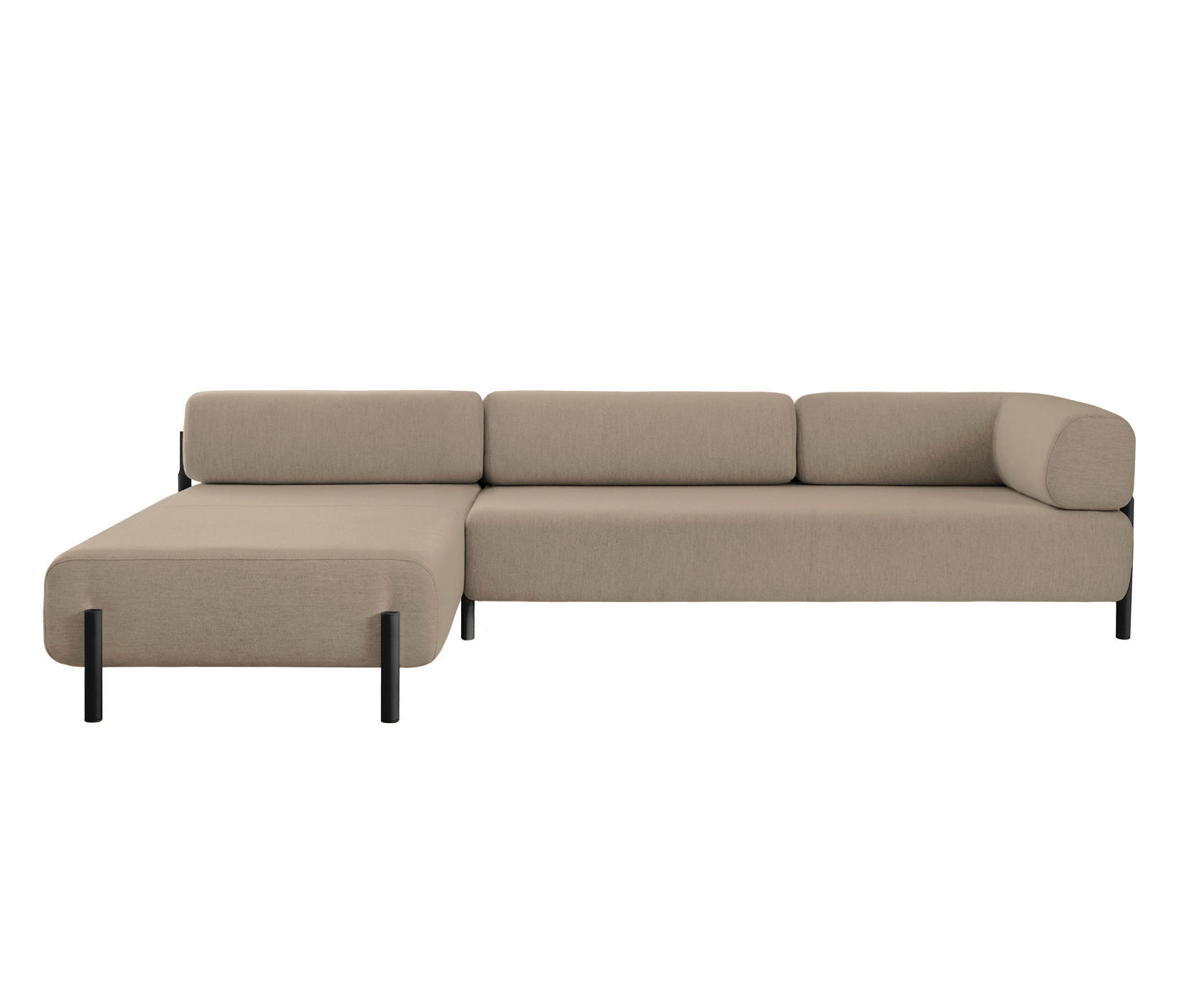 Palo Modular 2 Seater Chaise Left Beige Architonic