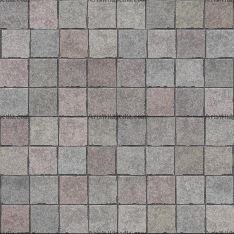 Different color ground stone texture