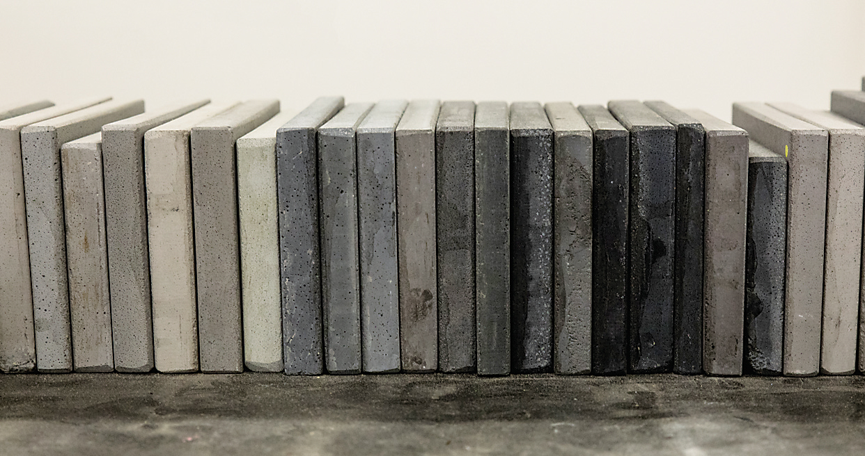 Concrete Countertops Book Dylan Myers Designs En Vogue Concrete Furniture