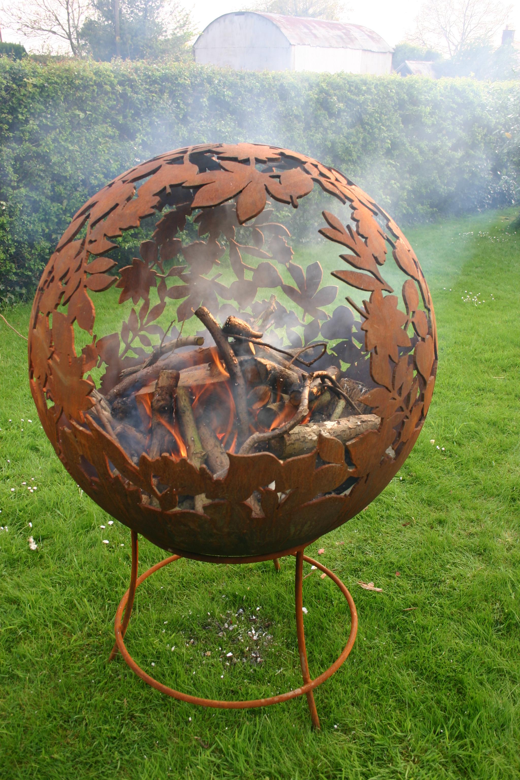 Fire Pit Globe Designs