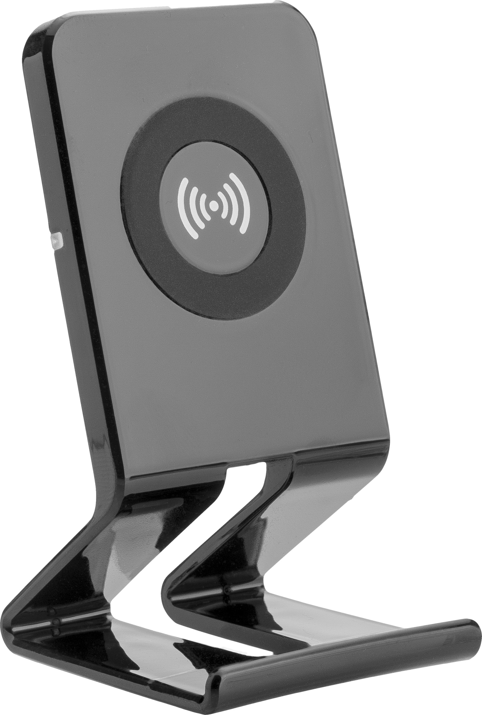 Qi Ladestation 16529 Qi Wireless Charger Easy Ladestation Schwarz