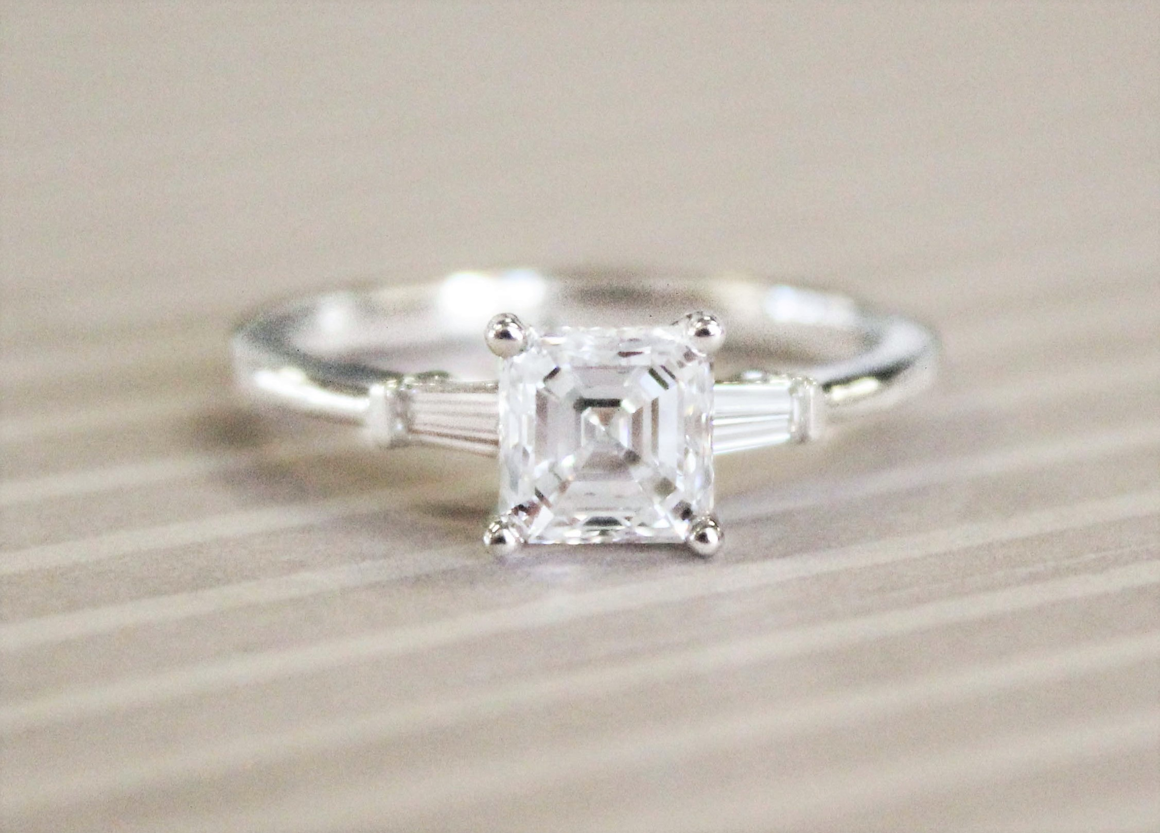baguette diamond ring designs brilliant earth wedding bands Harkening back to the Art Deco era baguette diamonds make for a sleek and sophisticated look when set in wedding bands or engagement rings