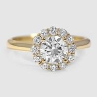 Flower Engagement Ring | Lotus | Brilliant Earth