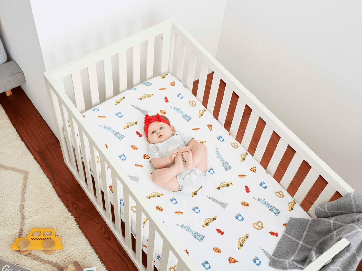 Baby Cradle Sheets Brooklinen Launches Line Of Baby Bedding Adorably Called