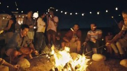 Hershey's Milk Chocolate TV Commercial, 'S'mores Around the Bonfire'