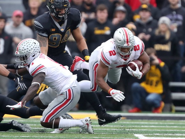 JK Dobbins slides up to top running back Ohio State football