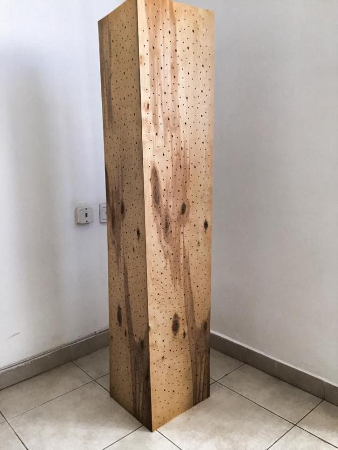 Lampe Holz Holz-raum-lampe