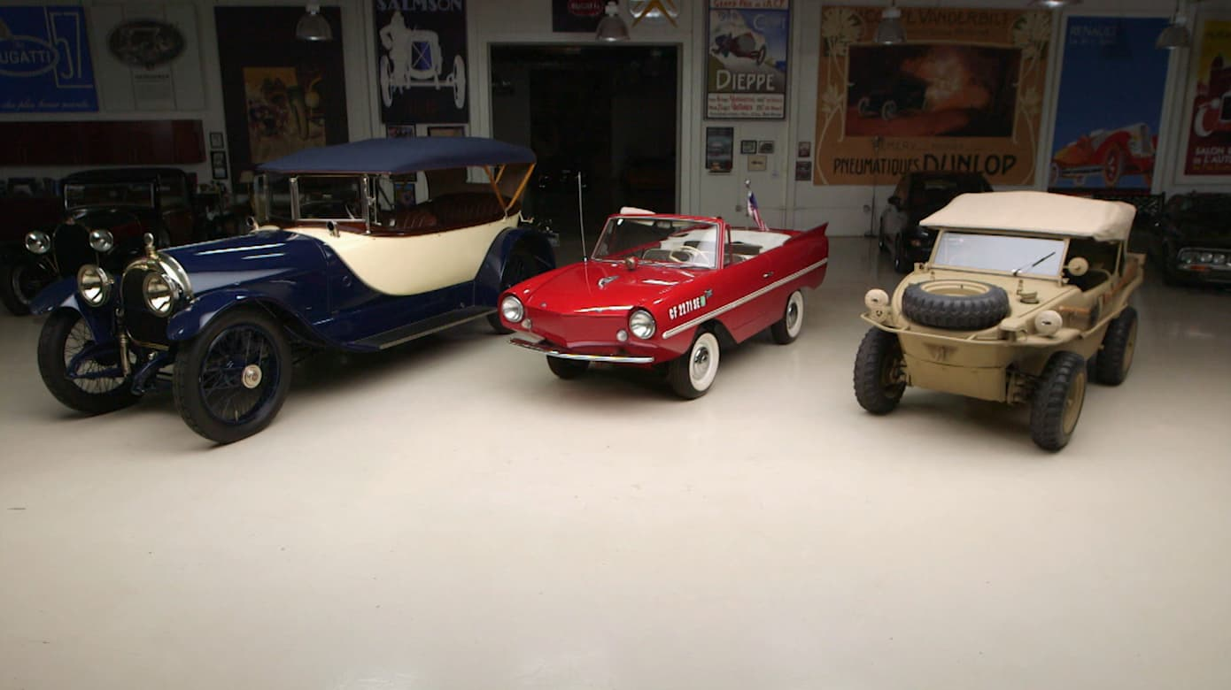 Garage Volkswagen Dieppe Schwimmwagen Vs Amphicar Guess Which Made For Water Car Is Most