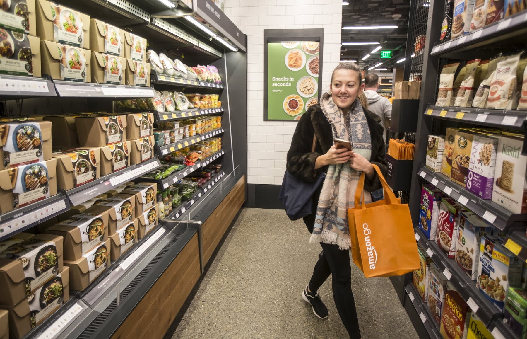 Amazon Grocery Amazon Go Grocery Store Could Actually Be Bad For Your Wallet
