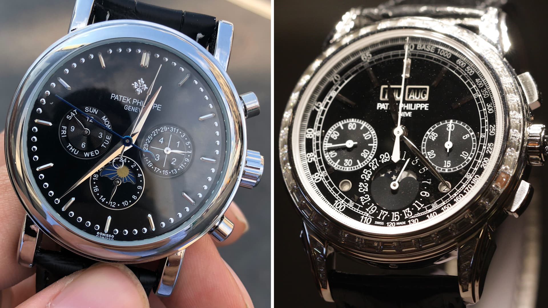 P Philippe Watch I Shopped For A 260 000 Patek Philippe And Compared A 60 Knock Off