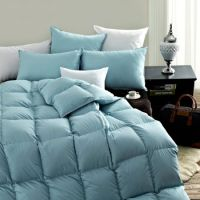 Shop for SNOWMAN Luxury White Goose Down Comforter Queen ...