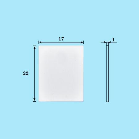 Shop for 20pcs / lot Alumina Ceramic Gastket MOS transistor IGBT - mos transistor