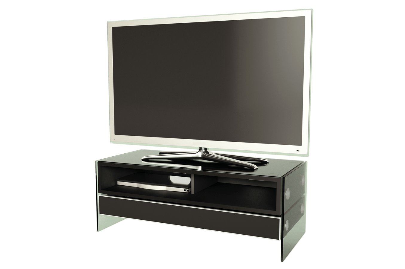 Alphason Meuble Tv Meuble Tv Alphason Evt 1000 Blk Evt1000 3678334 Darty