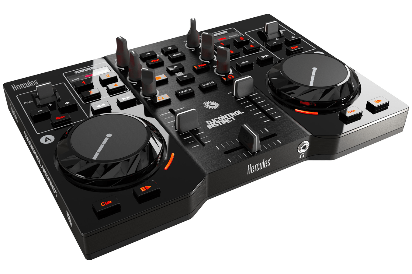 Mesa De Mezclas Amazon Table De Mixage Hercules Dj Control Instinct