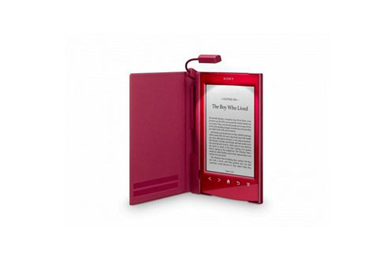 Libro Electronico Sony Prs T1 Pack Liseuse Ebook Sony Prs T2 Rouge 43 Housse Rouge