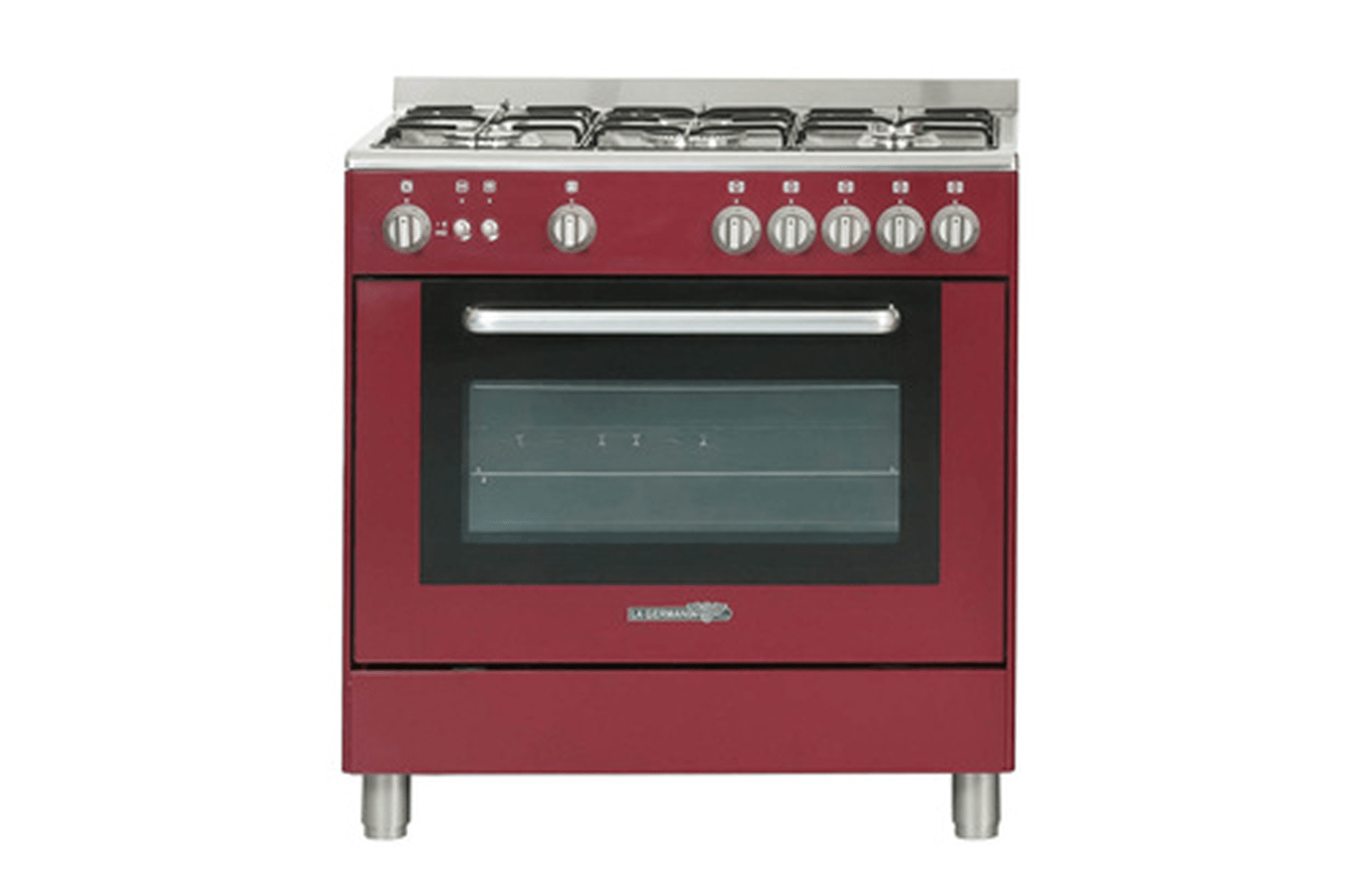 Darty Cuisine Plaisir Piano De Cuisson La Germania T85c20vidt Rouge 3557677