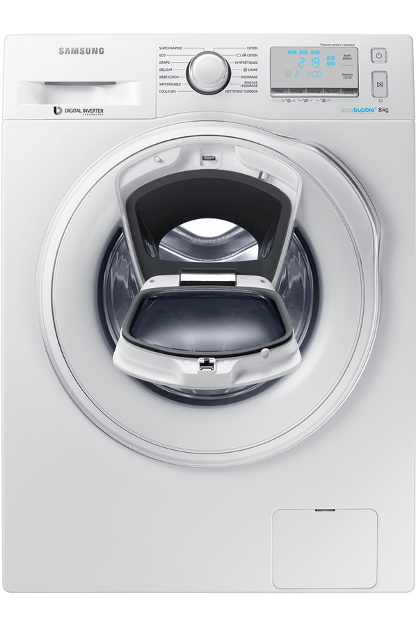 Samsung Ww8ek6415sw Lave Linge Hublot Samsung Ww8ek6415sw Add Wash | Darty