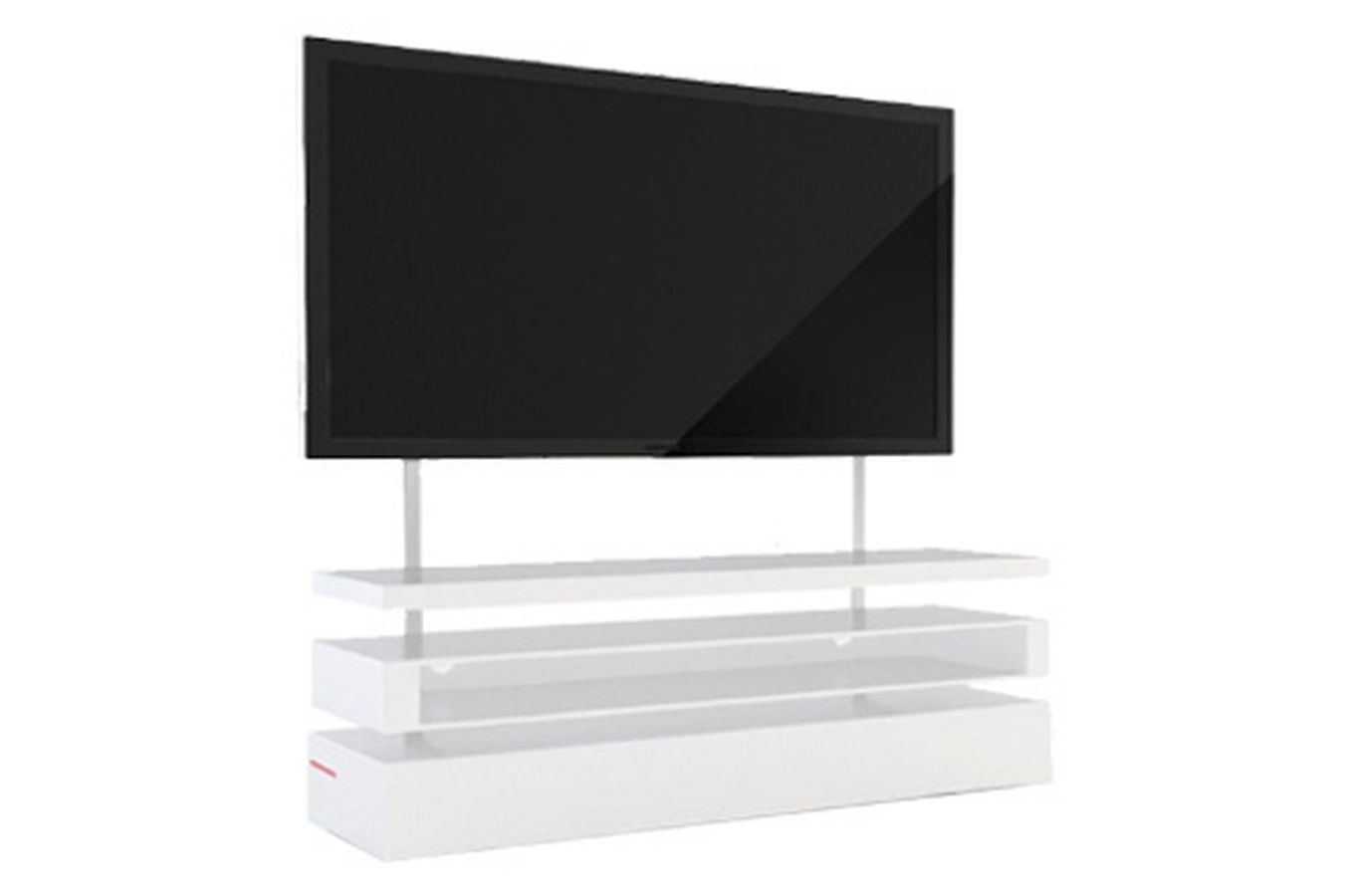 Meuble Destockage Meuble Tv Samsung F-napoli-sam/w (3291812) | Darty