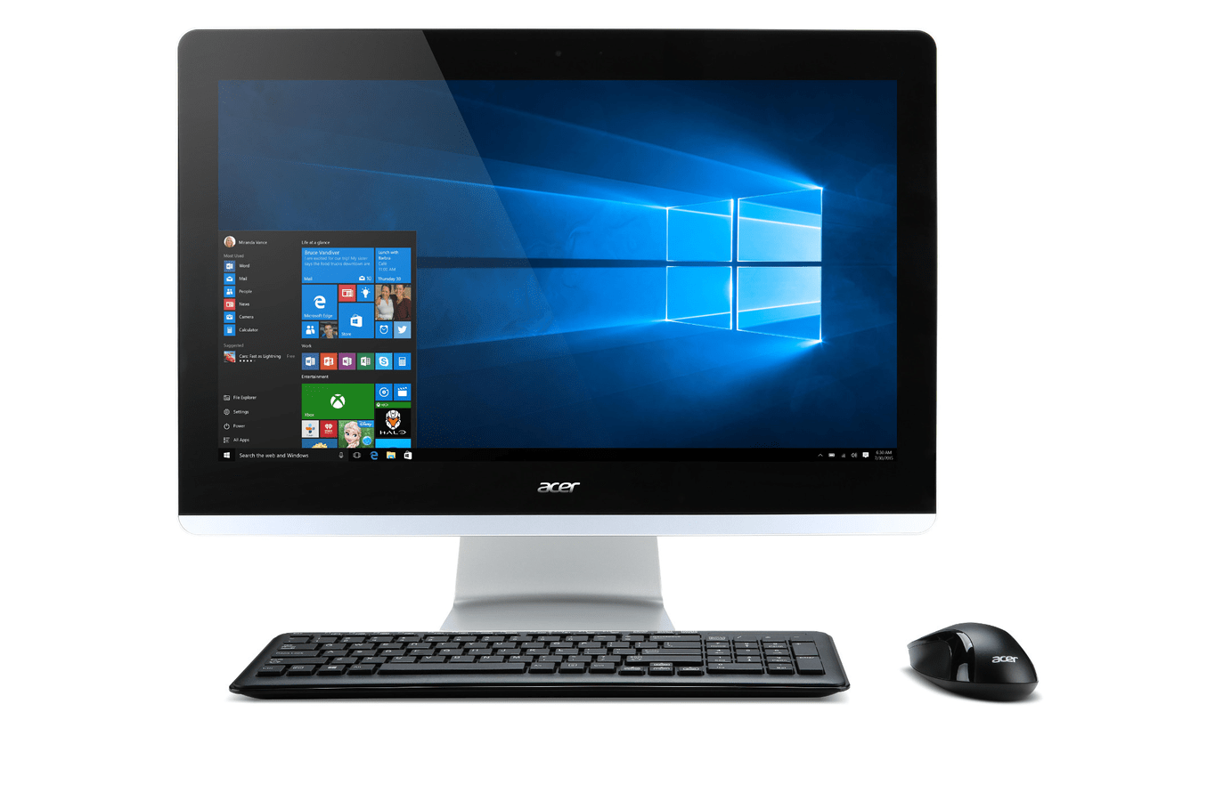 Darty Ordinateur Bureau Pc De Bureau Acer Aspire Z3 705 004 4222180 Darty