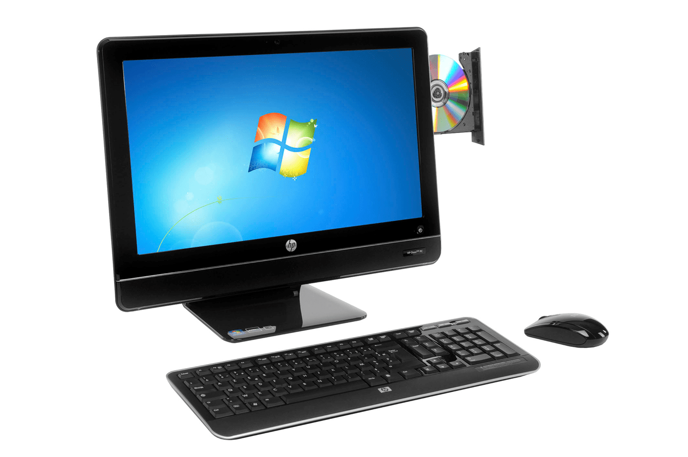Darty Ordinateur Bureau Pc De Bureau Hp Omni 100 5000 Fr Omni100 5000fr 3342433