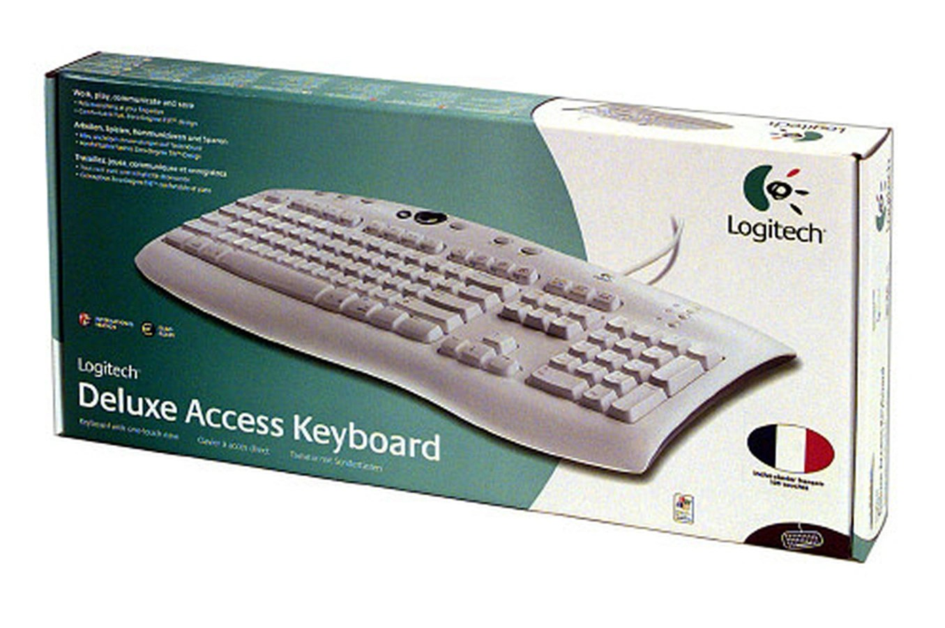 Tapis De Course Quelle Marque Choisir Clavier Logitech Deluxe Access Keyboard 1030477 Darty