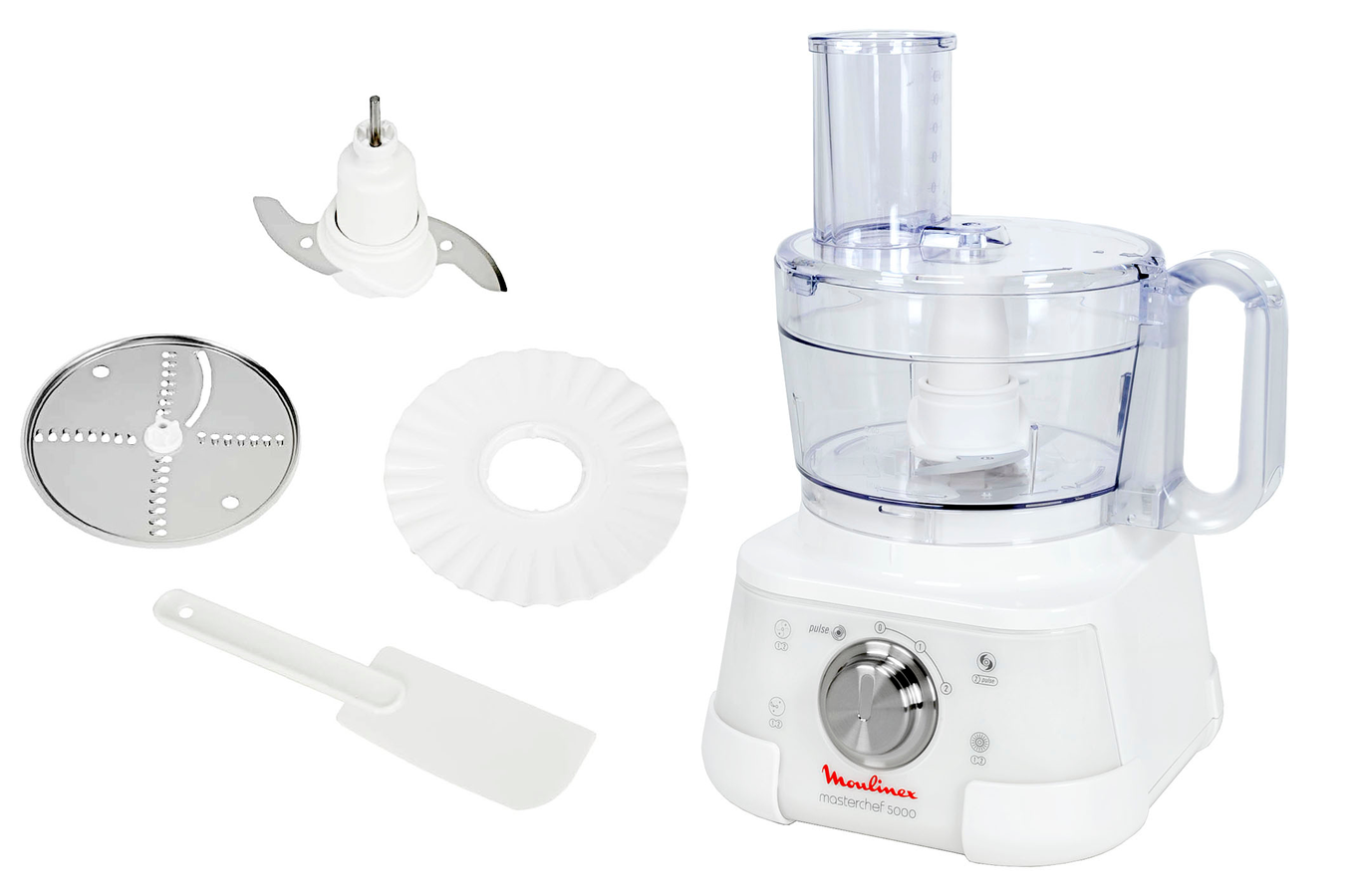 Cuisine Robot Multifonction Robot Multifonction Moulinex Masterchef 5000 Blanc Pearly