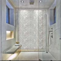 Mother of pearl tile backsplash seamless pearl tile with ...
