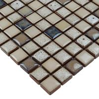 Glazed porcelain tile flooring ceramic mosaic floor tiles