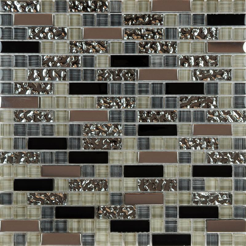 glass mosaic tile backsplash kitchen metal coating tile designs mirror mosaic backsplashes pictures ideas tips hgtv hgtv
