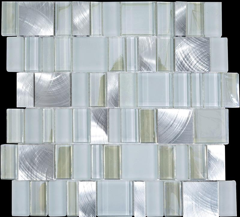 metal glass tile bathroom wall backsplash stainless steel tiles mg wall tile classic wood mosaic tile kitchen backsplash mosaic tile