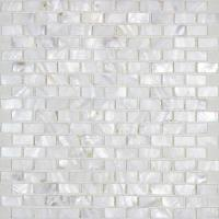 mother of pearl mosaic tiles subway pearl shell tile