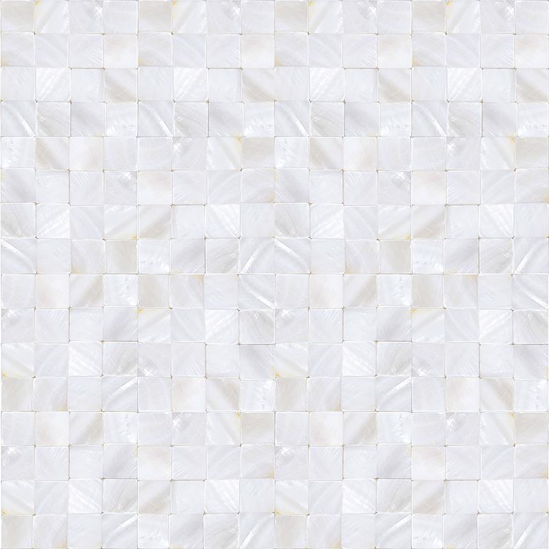 mother of pearl tile kitchen backsplash seamless shell