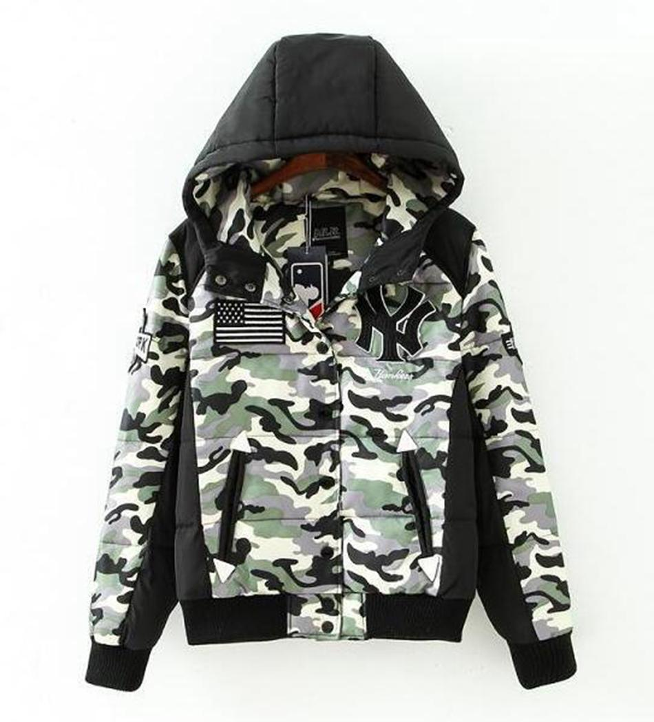 Camo Hoodie Friends Men S Winter New Cultivate One S Morality Even Cap White Duck Down Camouflage Baseball Uniform Couples Down Jacket Coat S 2xl